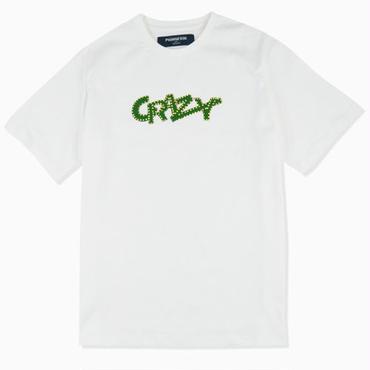 【PHINGERIN】CRAZY TEE (WHITE)