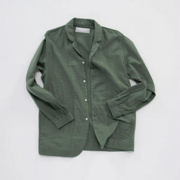 【PHINGERIN】NIGHT SHIRT MIL(MOSS GREEN)
