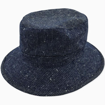 【wisdom】Woolen Fisherman Hat(NAVY)/ウィズダムウールフィッシャーマンハット(ネイビー)