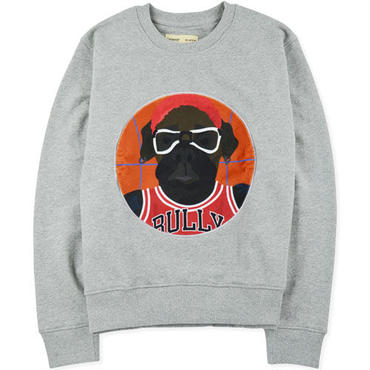 【beyond closet】ROD DOG B BALL LONG SLEEVE SWEAT(GRAY)
