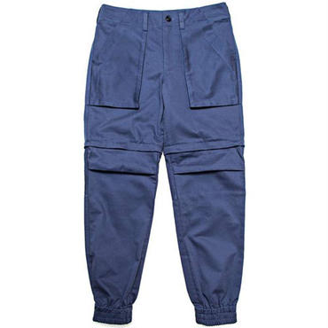 【wisdom】Detachable 2-Way Pants(BLUE)