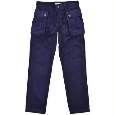 【wisdom】Corduroys Work Pants(NAVY PURPLE)/ウィズダム コーデュロイワークパンツ(ネイビーパープル)