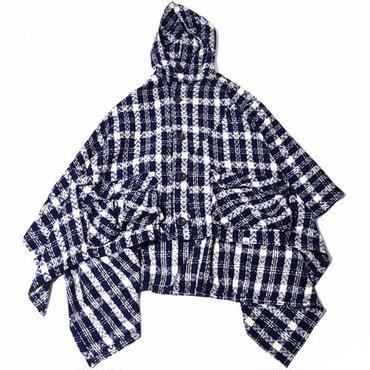 【wisdom】Hoodie Cloak(NAVY) ウィズダム フーディークローク(ネイビー)