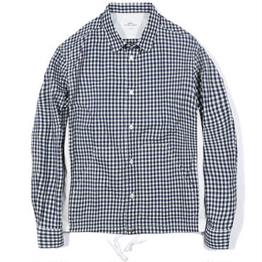 【LIFUL】GINGHAM MIXED SHIRKET