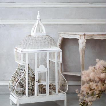 フランスアンティーク大きな鳥籠