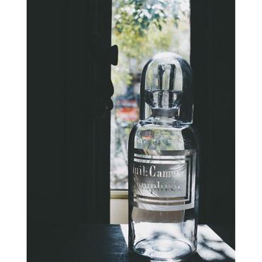 手吹きガラスの薬瓶 FRANCE