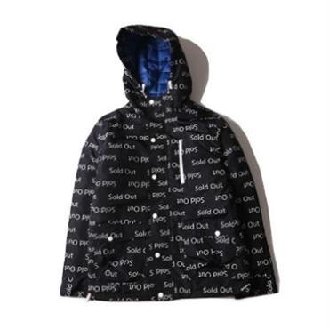 アウター ジャケット コート フード プリント カジュアル 秋 冬 暖かい 綿服