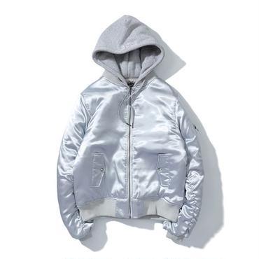 アウター 中綿ジャケット jacket ジャンバー フード 刺繍 上着 男女兼用 秋 冬 厚 全3色