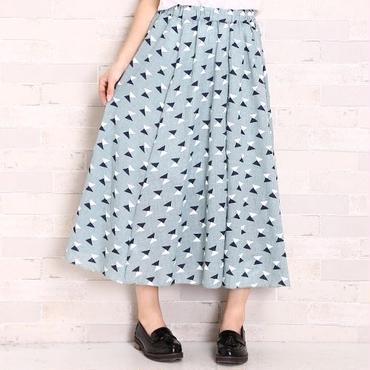 [0494sk]三角柄ミモレスカート