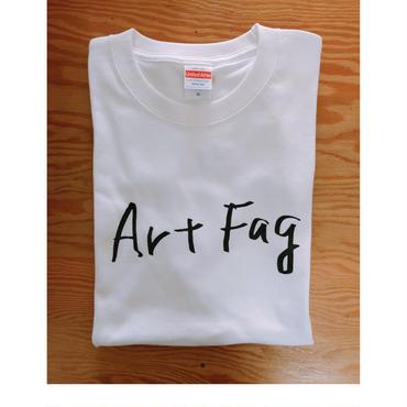 """BOOKNERD ORIGINAL  T-SHIRT   """"Art Fag"""""""