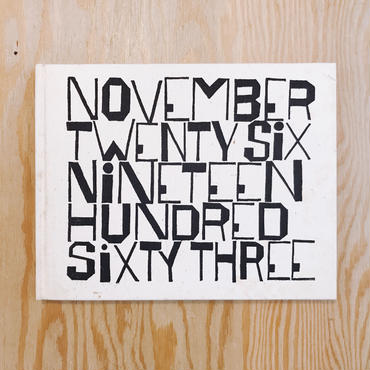 Wendell Berry&Ben Shahn     November Twenty Six Nineteen Hundred Sixty Three