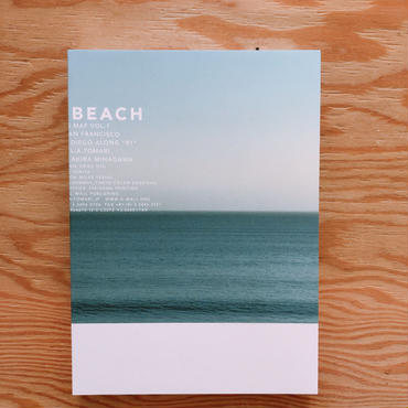 """泊昭雄 DRIVING MAP VOL.1 """"BEACH"""""""
