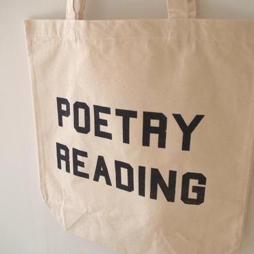 BOOKNERD オリジナルトート 『POETRY READING』