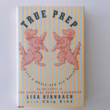 Lisa Birnbach witn Chip  Kidd TRUE PREP