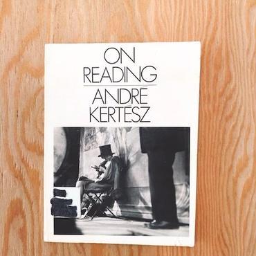 ANDRE KERTESZ    ON READING