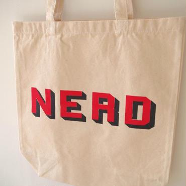 "BOOKNERD ORIGINAL TOTE ""NERD"""