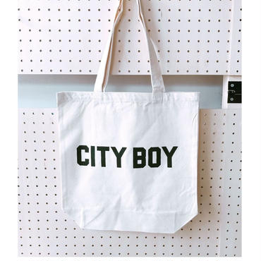 "BOOKNERD オリジナルトート""CITY BOY"""