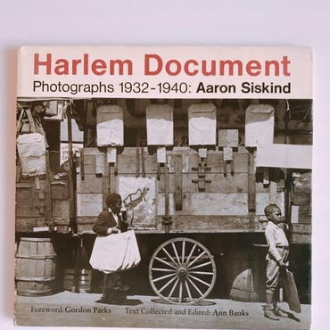 AARON SISKIND   HARLEM DOCUMENT