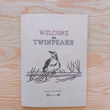 AKIKO MAEGAWA    WELCOME to TWINPEAKS