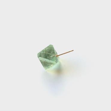 Fluorite Rock Earring