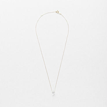 Diamond Quartz Top Necklace