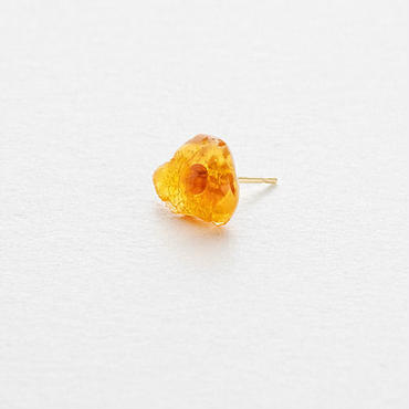 Fire Opal Rock Earring