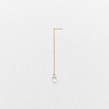 Diamond Quartz Drop Earring
