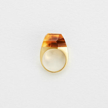 Citrine Rock Ring (Crystal)