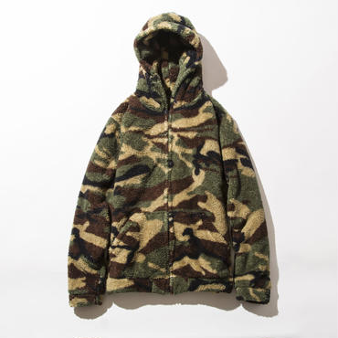 BxH Camo Boa Zip-up Pk