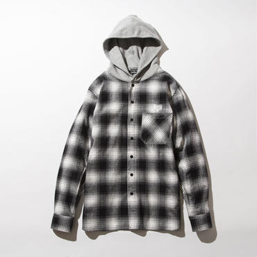 BxH Hooded Flannel Shirts