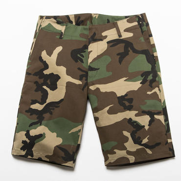 BxH Woodland Camo Stretch Half Pants