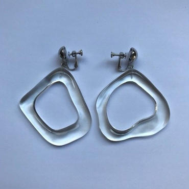 Iria / SQUARE  EARRINGS