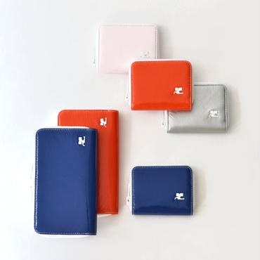 courrèges /  LOGO WALLET / LONG