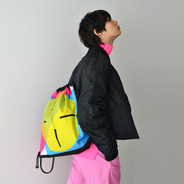 Azumi and David /  COLOR PRINT SQUARE RUCK SACK