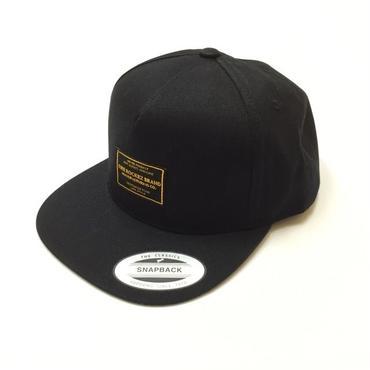"[ THE ROCKEZ BRAND ] ""FLAT BRIM CAP"" -BLACK-"