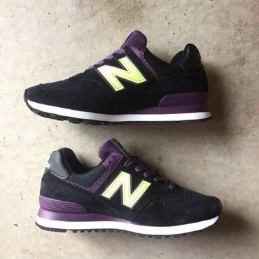 "[NewBalance] Connoisseur Painters ""US574BG"" Made in USA -black×grape×neongreen- (¥20,000-+tax)"