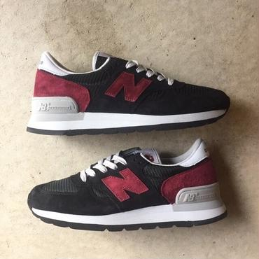 "[NewBalance] Connoisseur Painters ""M990CBO"" Made in USA -black×burgundy- (¥21,800-+tax)"