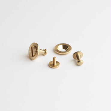 SNAP-KEYRING  /  L          Brass parts