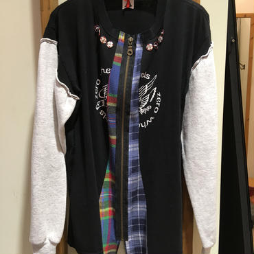 YUUMI ARIA  / ZIP SWEAT SHIRT