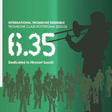 "CD ""6.35"" International Trombone Ensemble"