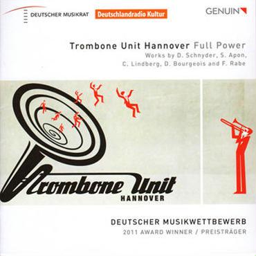 """CD """"Full Power"""" Trombone Unit Hannover"""