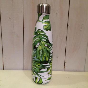 ステンレス製携帯用魔法瓶(モンステラ)