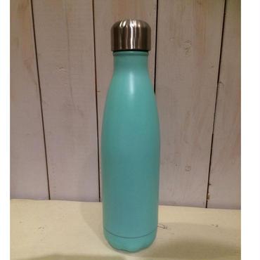 ステンレス製携帯用魔法瓶(ライトブルー)
