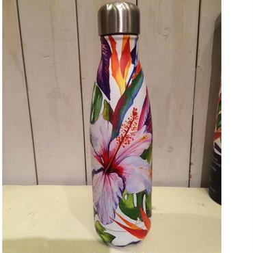 ステンレス製携帯用魔法瓶(フラワー)
