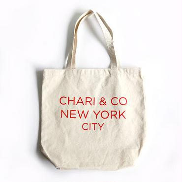 CHARI & CO - CANVAS TOTE BAG