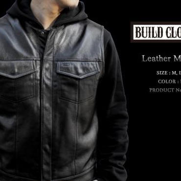 Leather MC Vest