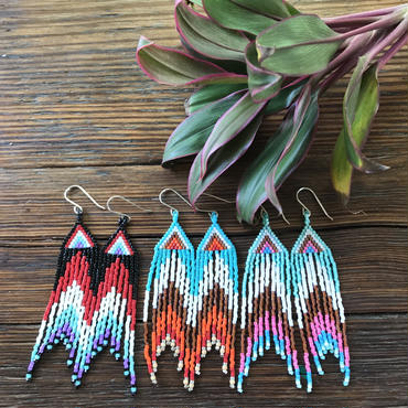 fringe beads pierce