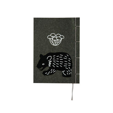 和綴じノート(文庫本サイズ) 宮澤賢治 なめとこ山の熊