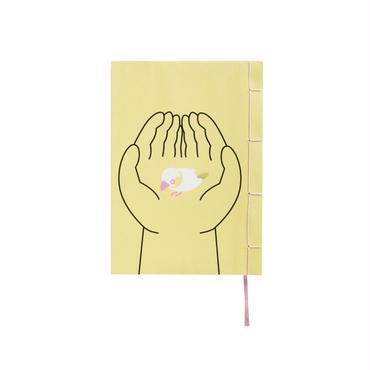 和綴じノート(文庫本サイズ) 夏目漱石 文鳥