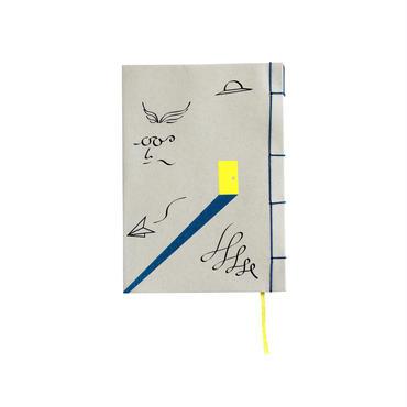 和綴じノート(文庫本サイズ) 坂口安吾 風博士